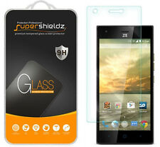 2X Supershieldz Tempered Glass Screen Protector Saver Shield For ZTE Warp Elite