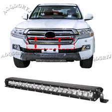 LED Front Bumper Grille Light Bars Decorat Strip For Land Cruiser LC200 2016-20
