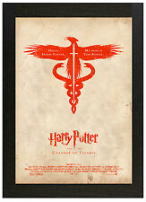 A3 Póster Enmarcado Harry Potter Y La Camara Secreta imagen