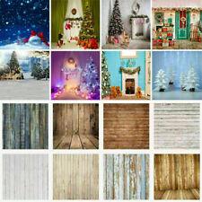 Christmas Xmas Photography Background Retro Plank Photo Backdrop EAMAB2 MCAB2