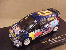 Ixo 1/43 Diecast Ford Fiesta RS WRC, 2011 Bologna Motor Show, Red Bull  #RAM465