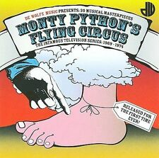 MONTY PYTHON'S FLYING CIRCUS-30 MUSICAL MASTERPIECES-30 TRACK CD-UK IMPORT-2009