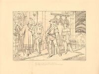 1879 Grande Victoriano Estampado Lord Byron Lara ~ At Último En Sudden