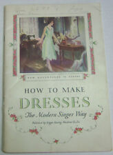 How To Make Dresses Magazine The Modern Singer Way  021713R
