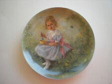Little Miss Muffet 3rd plate Mother Goose Series 1981John McClelland-Reduced Pri