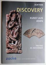 ZACKE Vienna*November 2012*Asian Art*auction catalog
