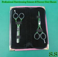 Professional Hairdressing Scissors &Thinner Hair Shears Set 5.5'' +Case S.S-0086