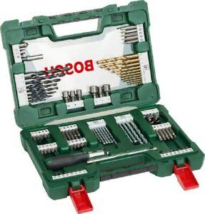 Bosch 91-Piece V-Line Titanium Drill Bit and Screwdriver Bit Set - Brand New