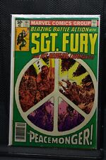 Sgt Fury and His Howling Commandos #161 Marvel 1980 Stan Lee Blazing Battle 7.0
