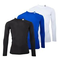 Mens Umbro Casual Long Sleeve Compression Fit Baselayer Tee Sizes from S to XXL