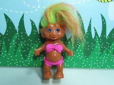 "VINTAGE 1960's KOREAN TROLL - 4"" Etone Troll Doll - All Original - NEW"