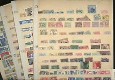 BELGIUM, GREECE, Excellent assortment of Stamps in 4 stock pages