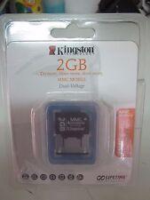 KINGSTON MMCM/2GB NOUVEAU SCELLÉ DOUBLE TENSION - RÉF 1081