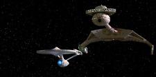 Star Trek Prop *1 Klingon battle cruiser *No cloaking device sadly disabled*