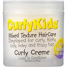 Curlykids Mixed Texture HairCare Curly Creme Leave In Contioner 170g
