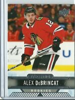 2017-18 Upper Deck Overtime Rookie Alex DeBrincat #162	Chicago Blackhawks