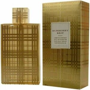 Burberry Brit Gold Limited Edition  100 Ml Eau De Parfum Profumo Donna 216