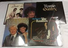 Lot Of 5 New Factory Sealed Rambo Vinyl Records. Mint NOS