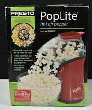 Poplite Hot Air Popper Popcorn Maker Red Up to 18-Cups in less than 2.5 minutes!