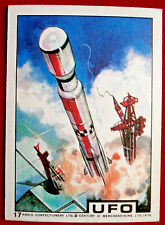 UFO - ANGLO (1970) - Card #17 - Individual Trading Card, Excellent Condition