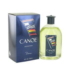 Canoe Cologne by Dana, 8 oz EDT Splash for Men NEW