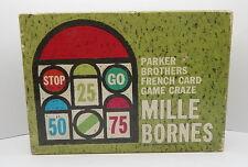 Mille Bornes Complete 1962 Parker Brothers R14292