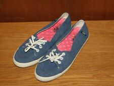 Ladies Vans Shoes Size 4.5 Blue Ideal Holiday