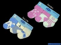 Babyco 3 Pairs Socks Baby Boy Girl Cotton blend  NewBorn Infant Soft 0-3 Months