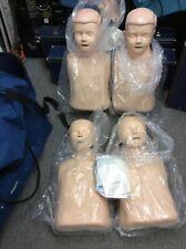 4x Laerdal Little Junior Child Cpr Manikin Trainer First Aid Nursing Amp Bag