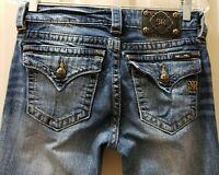Miss Me Mid-Rise Skinny Denim Jeans.  Size 27 Rise 8 Waist 30X30L