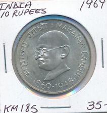 INDIA 10 RUPEES 1969 KM185