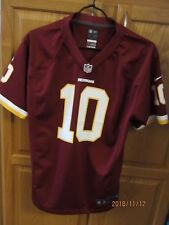 ROBERT GRIFFIN III WASHINGTON REDSKINS #10 YOUTH SIZE L NIKE PREE-OWNED JERSEY
