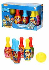 Paw PATROL Bowling Set Bambini Indoor Outdoor skittes PIN BALL GIOCO GIOCATTOLI