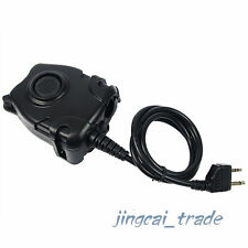 Waterproof Z-Tactical Headset PTT Cable for Midland G6 G7 GXT760 2-Pin Radio