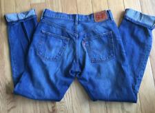 Levi 501 501's Red Tag Button Fly Levi's Levis 29x30 Denim Blue Jeans