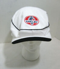 White Carroll Shelby Duffy Cabbie Hat Cobra Racing Gatsby Style Ivy League NEW