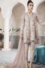 Pakistani Indian DESIGNER  salwar kameez Inspired Net Embroidered  unstitched
