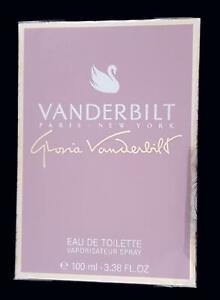 GLORIA VANDERBILT PARIS 100ml Eau de Toilette Spray MADE in FRANCE NEW & PERFECT