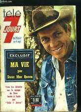 Télé 7 jours n° 232 - Ma vie par Steve Mac Queen. C'est pour pouvoir acheter ...