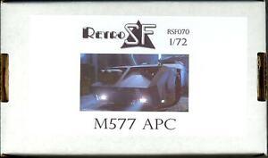 RetroKits Models 1/72 M577 APC from the Movie Aliens Resin Kit