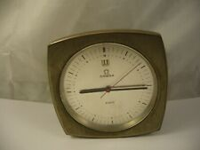 RARE Omega 8 Days Table Clock