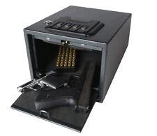 Magnum Quick-Access Alarming Pistol Safe Gun Security Storage Case Home 53538