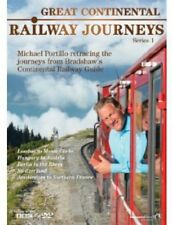 Great Continental Railways Journeys Season Series 1 DVD Box Set R4 New & Sealed