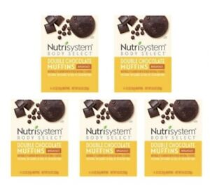 Nutrisystem Double Chocolate Breakfast Muffins-6 Boxes