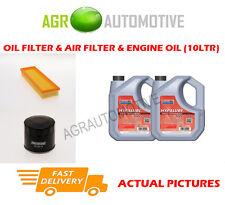 DIESEL OIL AIR FILTER + FS 5W40 OIL FOR RENAULT TRAFIC II 1.9 101 BHP 2001-06