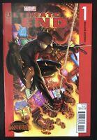 Miles Morales Spiderman Ultimate End #1 2011 Variant Marvel comic book