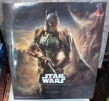 Official Star Wars Boba Fett Action Figure SQUARE ENIX Play Arts Kai