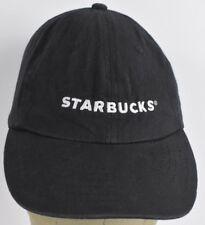 Black Starbucks Coffee Uniform Logo Embroidered Baseball hat cap Adjustable