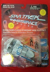 1995 Star Trek Innerspace - Excelsior-Class Starship Mini Playset - vintage