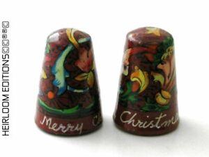 MERRY CHRISTMAS KASHMIRI THIMBLE
